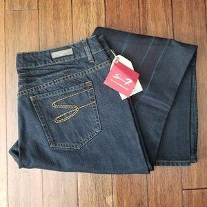 Seven7 Distressed Blue Jeans Plus Size 20